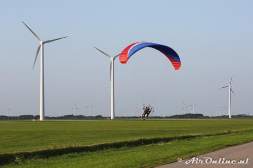 Slalommen tussen de windmolens