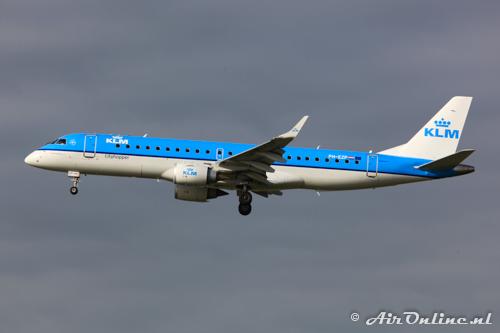 PH-EZP Embraer 190-100STD KLM CityHopper