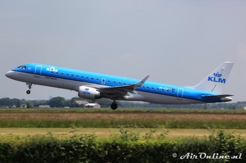 PH-EZI Embraer 190-100STD KLM CityHopper