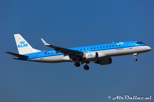 PH-EZA Embraer 190-100STD KLM CityHopper