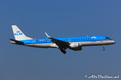 PH-EZD Embraer 190-100STD KLM CityHopper