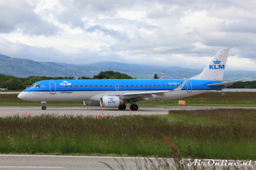 PH-EZK Embraer 190-100STD KLM CityHopper