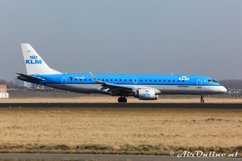 PH-EZB Embraer 190-100STD KLM CityHopper