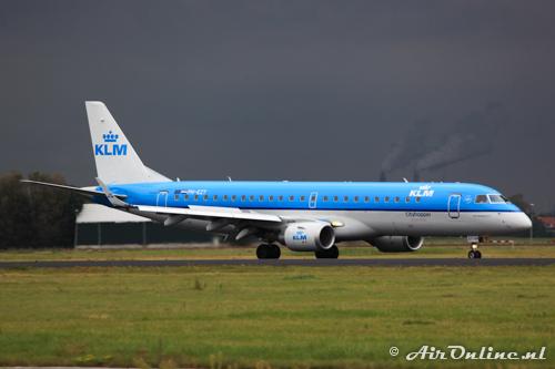 PH-EZT Embraer 190-100STD KLM CityHopper