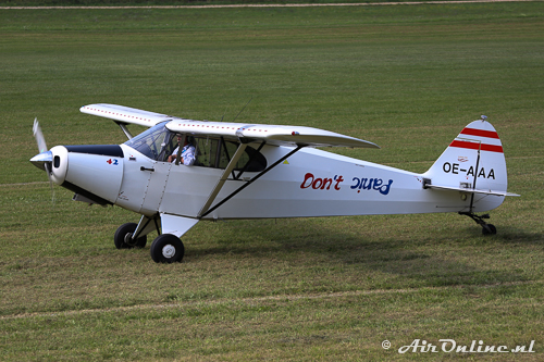 OE-AAA Piper PA-12-150 Super Cruiser