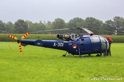 A-301 Aerospatiale Alouette III SE-3160 KLu
