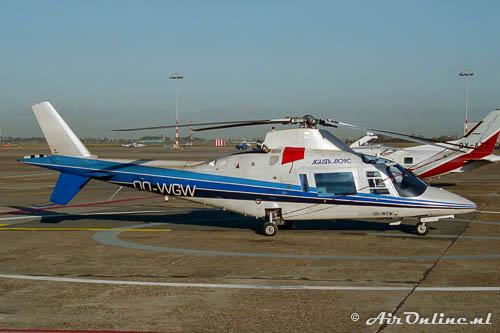 OO-WGW Agusta A109C (Schiphol 1996)