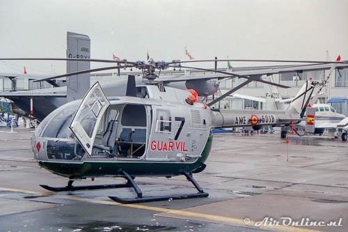 HU.15-90 / AME 6018 Bolkow Bo105CBS-4 Spanish Guardia Civil