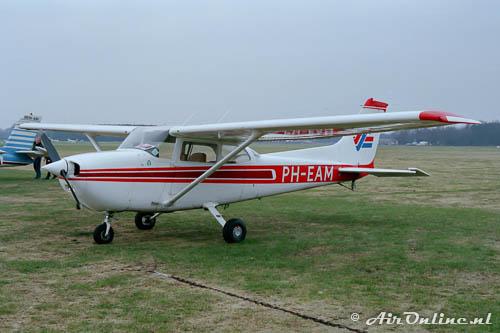 PH-EAM Reims-Cessna F172N Skyhawk in 1986 op vliegveld Hilversum