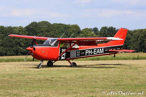 PH-EAM Reims-Cessna F172N Skyhawk vorig jaar op Schaffen-Diest (B)
