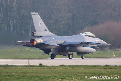 J-644 F-16AM KLu