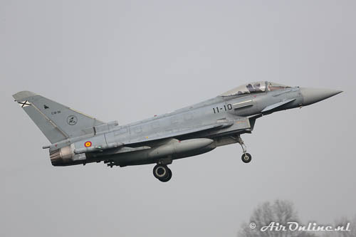 C.16-30 Eurofighter EF200 Typhoon Spanish Airforce