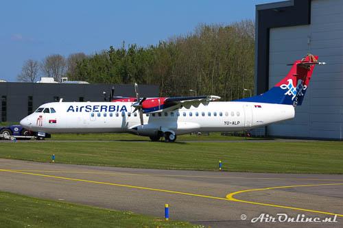 YU-ALP ATR 72-202 AirSerbia