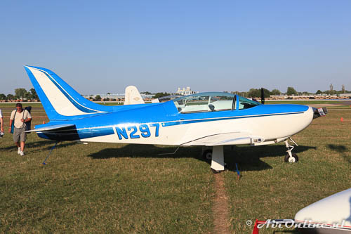 Cat. Homebuilt Aircraft; N297 Barry Halsted BH-1