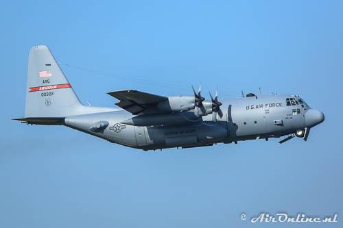 80-0322 Lockheed C-130H Hercules USAF Savannah ANG