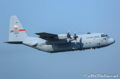 80-0320 Lockheed C-130H Hercules USAF Savannah ANG