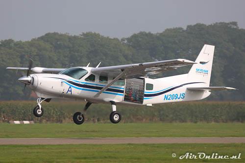 N209JS Cessna 208 Caravan I vanaf Stadtlohn