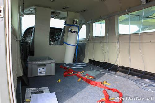 N209JS Cessna 208 Caravan I met de zuurstoffles voor grote hoogtes