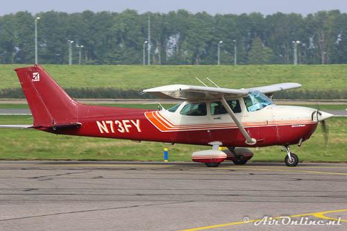 N73FY Cessna 172P Skyhawk deelnemer aan de Dutch Air Rally