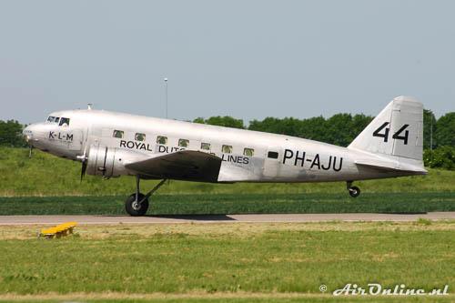 NC39165 / PH-AJU Douglas DC-2-142 KLM het eerste Douglas type waar mee werd gevlogen