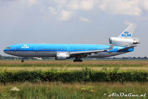 PH-KCE MD-11 KLM