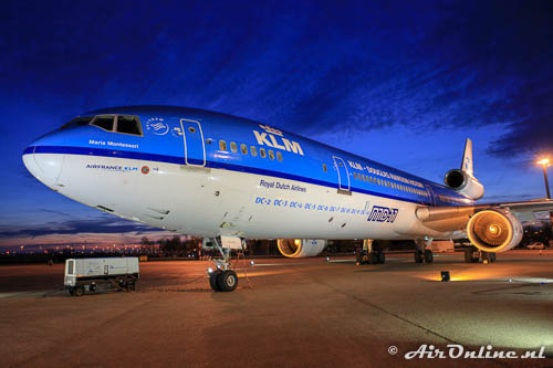 PH-KCB McDonnell Douglas MD-11 KLM Royal Dutch Airlines