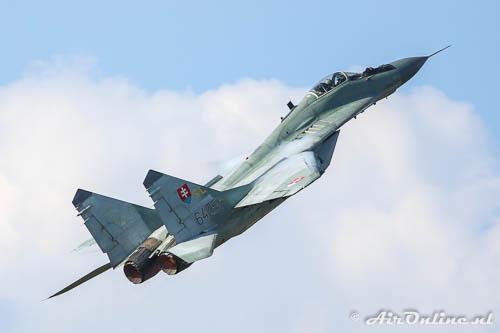 SL 6425 Mikoyan-Gurevich MiG-29AS Fulcrum Slovak Air Force bi de Belgian Air Force Days, september 2014