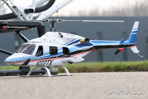 R/C model Bell 222