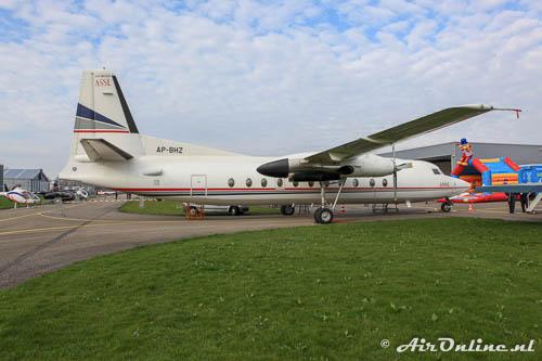 AP-BHZ Fokker F-27-500 Friendship