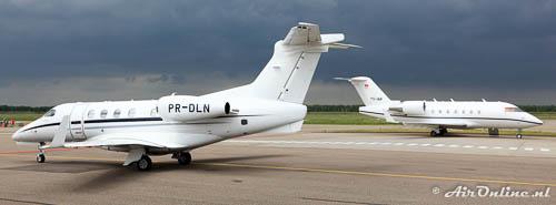 TS-IAM Bombardier CL.600-2B16 Challenger 604 + PR-DLN Embraer EMB-505 Phenom 300