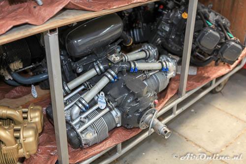 Gereviseerde Continental motor