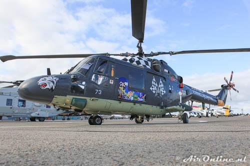 273 Westland Lynx SH-14D MLD zoals deze nog operationeel was in september 2012