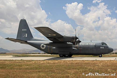 4144 Lockheed L-100 Hercules PakistanAF