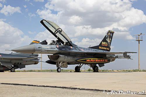 94-0110 General Dynamics F-16D Fighting Falcon TuAF