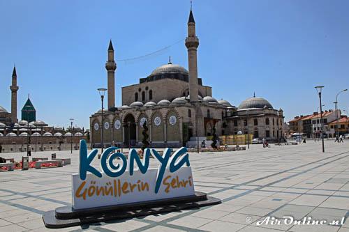 Het centrum van Konya