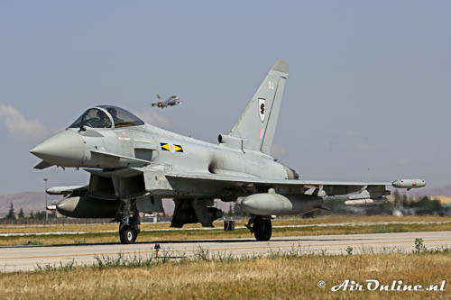 ZJ935 / DJ Eurofighter EF-2000 Typhoon FGR4 RAF