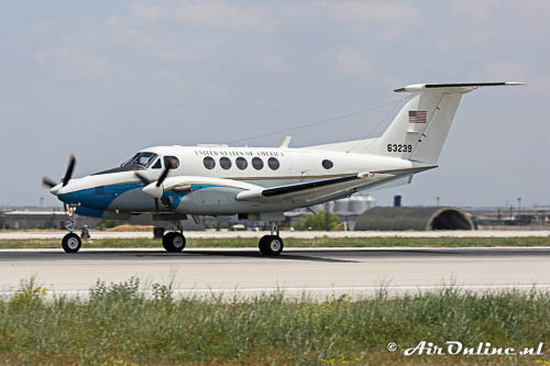 63239 Beech 200 Super King Air USAF