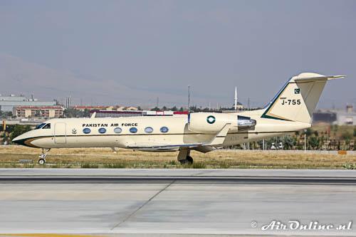 J-755 Gulfstream IVSP PakistanAF