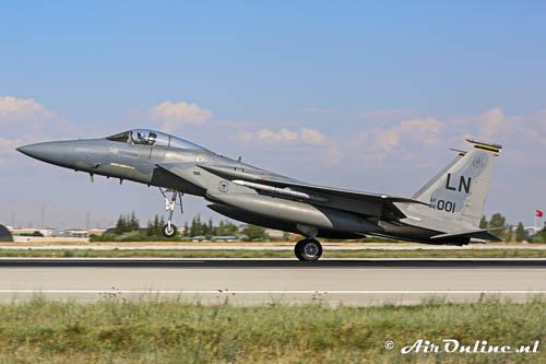 LN84-001 McDonnell Douglas F15C Eagle USAF