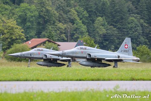 J-3074 + J-3097 Northrop F-5E Tiger II