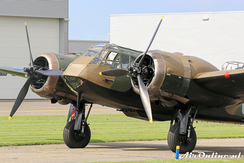 G-BPIV (L6739 / YP-Q) Bristol / Fairchild Bolingbroke (Blenheim) met zijn korte neus Mk.I