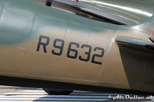 G-AIST is nu weer R9632 in plaats van R9612