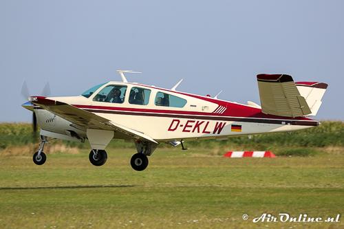 D-EKLW Beech V35B Bonanza