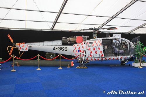A-366 Sud Aviation SE-3160 Alouette III Netherlands - Air Force / United Nations (Gilze Rijen, 2014)
