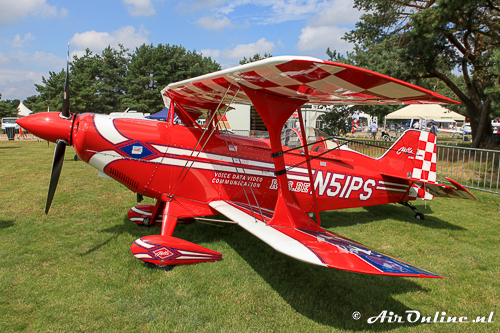 N51PS Aviat Pitts S-2C Special was de tweede aanwezige Pitts