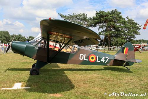 OO-SPG Piper PA-18-95 Super Cub