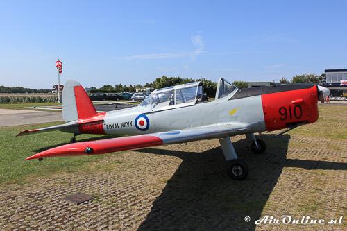 G-BWTG / WB671 De Havilland Canada DHC.1 Chipmunk 22 hoort thuis op Teuge