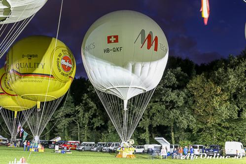 HB-QKF Wörner NL-1000/STU klaar voor de start in Gladbeck