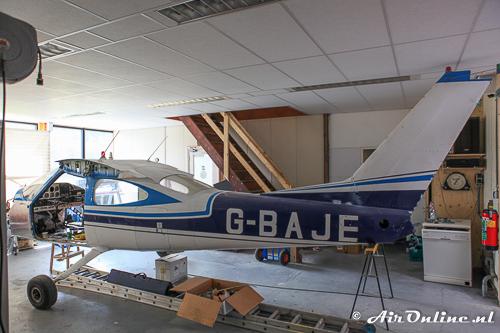 G-BAJE Cessna 177 Cardinal in augustus 2015