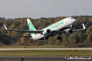 PH-HXE Boeing 737-8K2(WL) Transavia